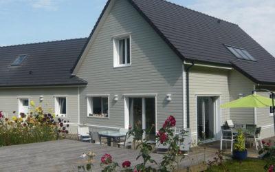 Suivre la construction d'une maison ossature bois étape par étape